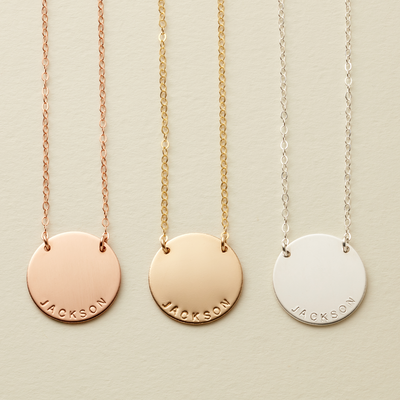 Zola Disc Necklace