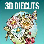 3D Stickers & Diecuts 3d Decoupage