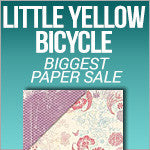 Biggest Paper Sale - Little Yellow Bicycle