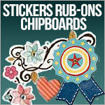 Stickers Rub-Ons Chipboards