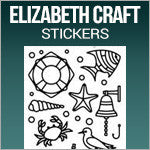 Elizabeth Craft Stickers