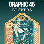 Graphic 45 Stickers & Die-Cuts