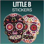 Little B 3D Stickers