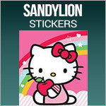 Sandylion Stickersbatman, Spiderman, Hello Kitty