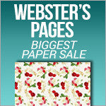 Biggest Ever Paper Sale - Websters