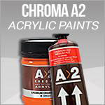 Chroma A2 Acylic Paints