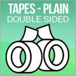 Tapes - Plain Double-Sided Tape