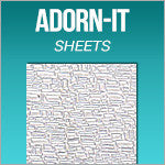 Adorn-It Textured Sheets