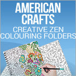 American Crafts - Creative Zen Coloring Folders