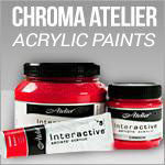 Chroma Atelier Acylic Paints
