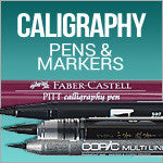 Calligraphy Pens and Papers