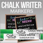 Craft Decor Chalk Writers
