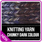 Knitting Yarn Serenity Chunky Dark