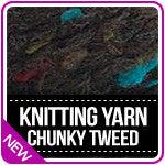 Knitting Yarn Serenity Chunky Tweed