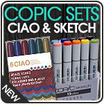 Copic Sketch Sets