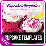 Crafter's Companion Cupcake Box Templates