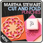Martha Stewart Cut and Fold Punches