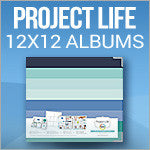 Becky Higgins Project Life 12x12 Albums