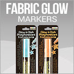 Deco Fabric Glow Markers