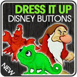 Dress It Up Embellishments - Disney Collection