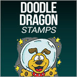 Doodle Dragon Stamps