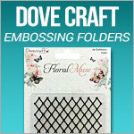 Dove Craft Embossing Folders