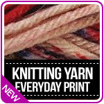 Knitting Yarn Everyday Print