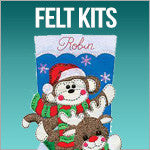 Stocking Felt Kits