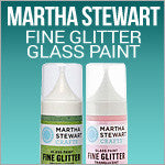 Glass Paint Fine Glitter