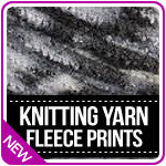 Knitting Yarn Fleece Prints
