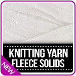 Knitting Yarn Fleece Solids
