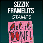 Sizzix Framelits With Stamps