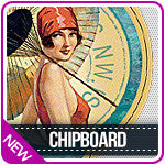 Graphic 45 Chipboard