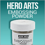 Hero Arts embossing Powder