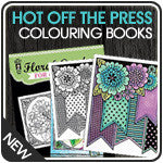 Hot off the Press Colouring Books