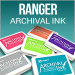 Ranger Archival Ink Pads standard and Jumbo Size