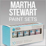 Martha Stewart Paint Sets And Accessories