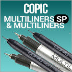 Copic Multiliner singles and sets