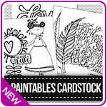 Paintables Cardstock