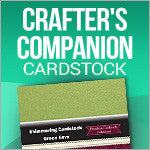 Crafter's Companion Plain Cardstock