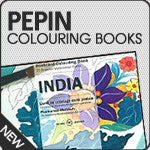 Pepin Colouring Books