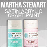 Satin Acrylic Craft Paint