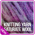 Knitting Yarn Saturate Wool