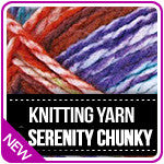 Knitting Yarn Serenity Chunky