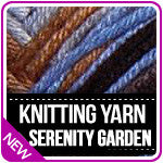 Knitting Yarn Serenity Garden