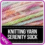 Knitting Yarn Serenity Sock