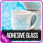 Adhesive Glass Silkscreen