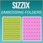Sizzix Embossing Folders Texture Impressions