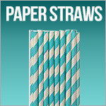 American Crafts Paper Straws