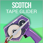 Scotch Tape Gliders